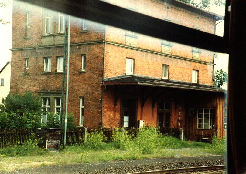Bhf. Leutershausen-Wiedersbach 1990